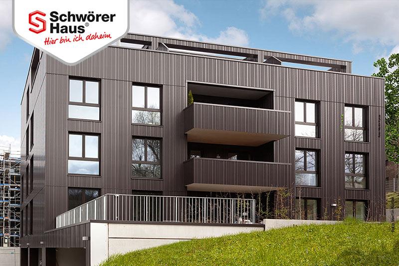Mehrfamilienhäuser Schwörerhaus Fertigbauweise